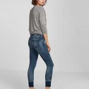 Express mid rise Eco friendly ankle jean leggings